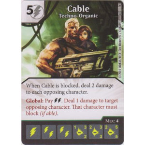 Cable - Techno-Organic (Die  & Card Combo)