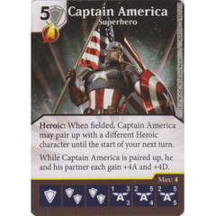 Captain America - Superhero (Die  & Card Combo)