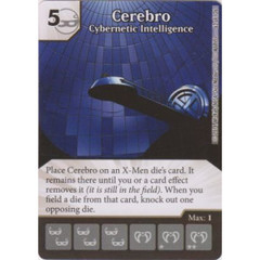 Cerebro - Cybernetic Intelligence (Die  & Card Combo)