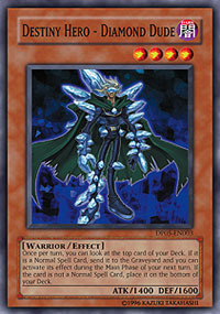 Destiny Hero - Diamond Dude - DP05-EN003 - Common - 1st Edition