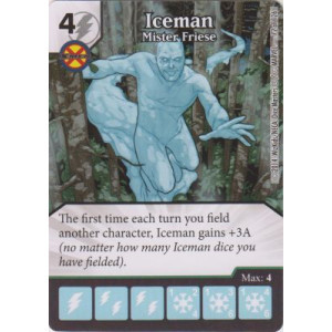 Iceman - Mister Friese (Die  & Card Combo)
