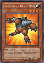 Neo-Spacian Grand Mole - DP06-EN002 - Rare - 1st Edition on Channel Fireball
