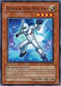 Elemental Hero Neos Alius - DP06-EN005 - Common - 1st Edition