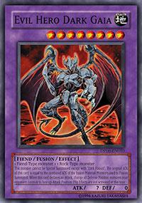 Evil Hero Dark Gaia - DP06-EN010 - Common - 1st Edition