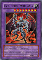 Evil Hero Dark Gaia - DP06-EN010 - Common - 1st Edition