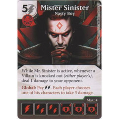 Mister Sinister - Nasty Boy (Die  & Card Combo)