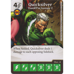 Quicksilver - Thanks to Isotope E (Die  & Card Combo)