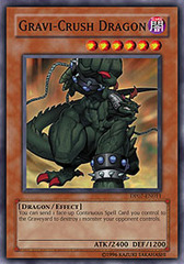 Gravi-Crush Dragon - DP07-EN011 - Common - 1st Edition