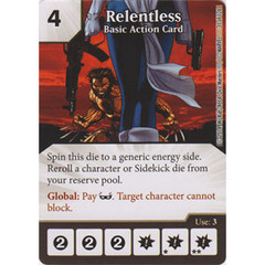 Relentless - Basic Action Card (Die  & Card Combo)