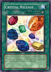 Crystal Release - DP07-EN019 - Super Rare - 1st Edition on Channel Fireball