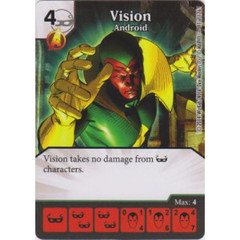 Vision - Andriod (Die  & Card Combo)