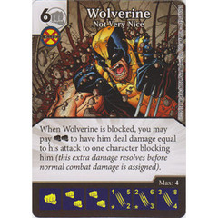 Wolverine - Not Very Nice (Die  & Card Combo)
