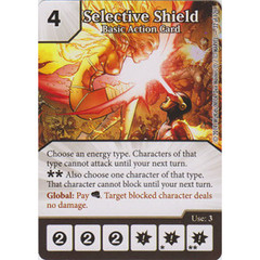 Selective Shield - Basic Action Card (Card Only)