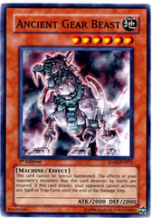 Ancient Gear Beast - SD10-EN013 - Common - 1st Edition on Channel Fireball