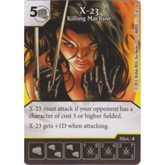 X-23 - Killing Machine (Card Only)