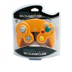 Controller for Wii / GameCube (Orange) Cirka