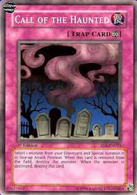 Call of the Haunted - SD1-EN021 - Common - 1st Edition