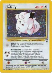 Clefairy - 6/130 - Holo Rare - Unlimited Edition