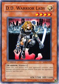 D.D. Warrior Lady - SD5-EN011 - Common - 1st Edition