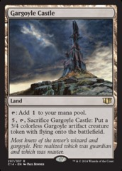 Gargoyle Castle - Commander 2014