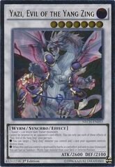Yazi, Evil of the Yang Zing - NECH-EN051 - Ultimate Rare - 1st Edition