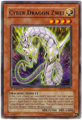 Cyber Dragon Zwei - ABPF-EN035 - Rare - 1st Edition on Channel Fireball