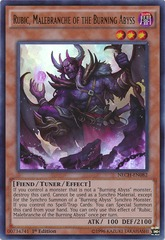 Rubic, Malebranche of the Burning Abyss - NECH-EN082 - Ultra Rare - 1st Edition