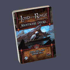 The Lord of the Rings: The Card Game Nightmare Decks - Over Hill and Under Hill