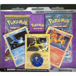 Pokemon Black & White Legendary Birds 2-Booster Blister Pack