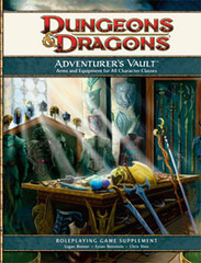 D&D 4E Adventurer's Vault - Arms & Equipment for All Character Classes HC