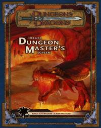 D&D 3.5 - Deluxe Dungeon Masters Screens