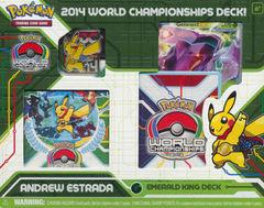 2014 World Championships Deck - Andrew Estrada Emerald King Deck