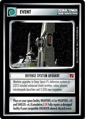 Defense System Upgrade
