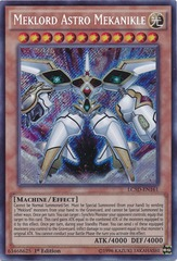 Meklord Astro Mekanike - LC5D-EN161 - Secret Rare - Unlimited Edition
