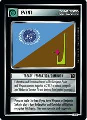Treaty: Federation/Dominion