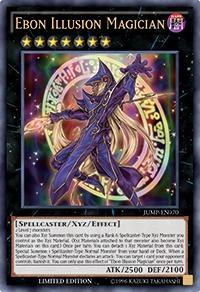 Ebon Illusion Magician - JUMP-EN070 - Ultra Rare - Limited Edition