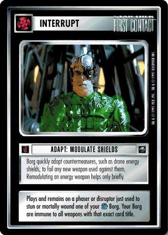 Adapt: Modulate Shields
