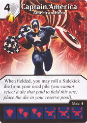Captain America - American Hero (Die & Card Combo)