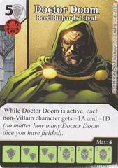 Doctor Doom - Reed Richards' Rival (Die & Card Combo)