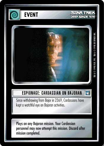 Espionage: Cardassian on Bajoran