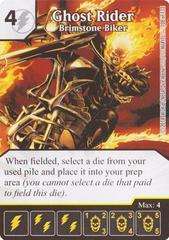 Ghost Rider - Brimstone Biker (Die & Card Combo)