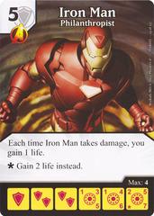 Iron Man - Philanthropist (Die & Card Combo)