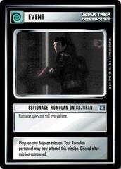 Espionage: Romulan on Bajoran