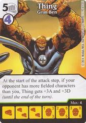 Thing - Grim Ben (Die & Card Combo)