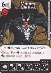 Venom - Eddie Brock (Die & Card Combo)