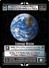 Espionage Mission