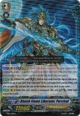 Bluish Flame Liberator, Percival - TD16/001EN - TD - RRR on Channel Fireball