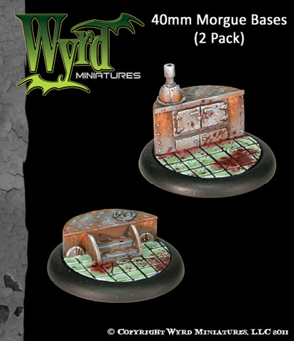 40 mm Morgue Bases 2 pack