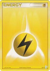Lightning Energy - 12/12 - Common (Minun)
