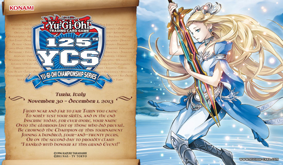 125th YCS Top Cut (Turin, Italy): Lady of the Lake Playmat